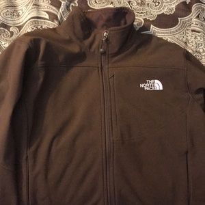 North face women's jacket brown size L